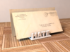 Love&Hate Letter Holder 3d printed