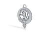 Sutherland Clan crest key fob 3d printed