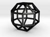 rhombicuboctahedron 3d printed