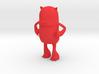 HBB Derp Badger Mascot 3d printed Classic Red