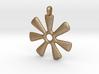 ANANSE NTONTAN Symbol Jewelry Pendant 3d printed