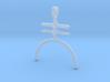 AMALGAM Symbol Jewelry Pendant 3d printed
