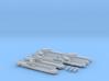 German Aeronef Barges 3d printed