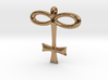 GLASS Alchemy Jewelry Symbol 3d printed