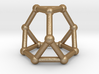 0371 Truncated Tetrahedron V&E (a=1cm) #002 3d printed