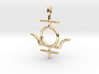 MERCURY Symbol Jewelry Pendant 3d printed