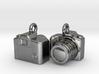 DSLR Camera Earrings / Bracelet Charm 3d printed