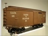 Boxcar 1880 Ulster and Delaware S scale 1/64 3d printed