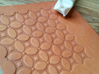 Leather stamp 15, repetitive pattern  3d printed 3d printed leather pattern stamp