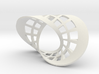 Seifert surface for (2,2) torus link with fibers 3d printed