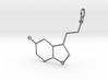 Serotonin Pendant 3d printed