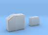 Tyrrell003 Fluid Tank, 1/12 scale and 1/20 scale 3d printed