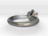 Diamond ring 'Big', Size 5 us (15.7mm) 3d printed