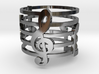 Musical Ring (Size 6) 3d printed