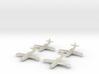 1/350 Yakovlev Yak-23 (landing gear up) x4 3d printed
