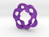 Interlocked waves 3d printed
