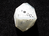 Woven Dice - Small 3d printed Ten sided die.