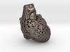 Voronoi Realistic Heart Pendant 3d printed