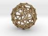 0385 Snub Dodecahedron V&E (a=1cm) #002 3d printed