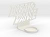 "Teelichthalter ""Break Dance Logo"" - Schatten 3d printed"