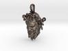 Steel Dancing Faun of Pompeii pendant 3d printed