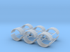 1/87th Dual Tire fenders set of six 3d printed