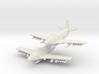 Douglas A2D Skyshark (Pair in flight) 6mm 1/285 3d printed