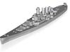 USS North Carolina 1/4300 (WSF) 3d printed
