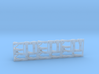 3 Late Sherman lamp, horn and tail light guard set 3d printed