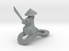 Striking Samurai - Key Chain 3d printed