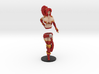 Pirate Veronika Red 14.7 cm (6 inch approx) COLOR 3d printed