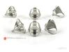 Horizon - Minimal Sterling Silver Ring 3d printed Polished Silver