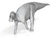 Maiasaura peeblesorum - walking along 1/72 3d printed