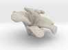 Lily Flower Rock 1 - M 3d printed