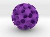 Implicit surface ornament 3d printed