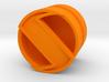 SPINNER_1814CS_LEFT - LEGO-compatible Custom Rims 3d printed