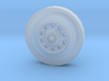 10-hole Alloy Semi Tractor Front Wheel 3d printed