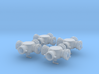 1/24 scale Hydrassist Hydrant Valves Set of 4 3d printed