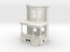 O scale WEST PHILLY ROW HOME FRONT END CUT  3d printed