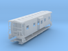 Sou Ry. bay window caboose - Round roof - TT scale 3d printed