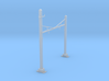 CATENARY PRR 2 TRACK N SCALE  3d printed