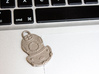 Diving Helmet Keychain 3d printed