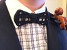 Insert-a-Color Plaid Bow Tie 3d printed