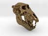 Baboon Skull Pendant (Open Jaw) 3d printed