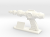 Futuristic Proton Pistol Miniature 3d printed
