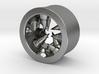 Géode cristalline (diam 10mm) 3d printed