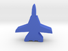 Game Piece, Blue Force Tomcat Fighter 3d printed