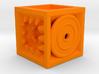 Pyramid Cube Tactile Dice 3d printed