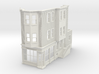 WEST PHILLY 3S ROW STORE CORNER R 48 Brick 3d printed