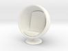 1/32 Egg Chair 3d printed